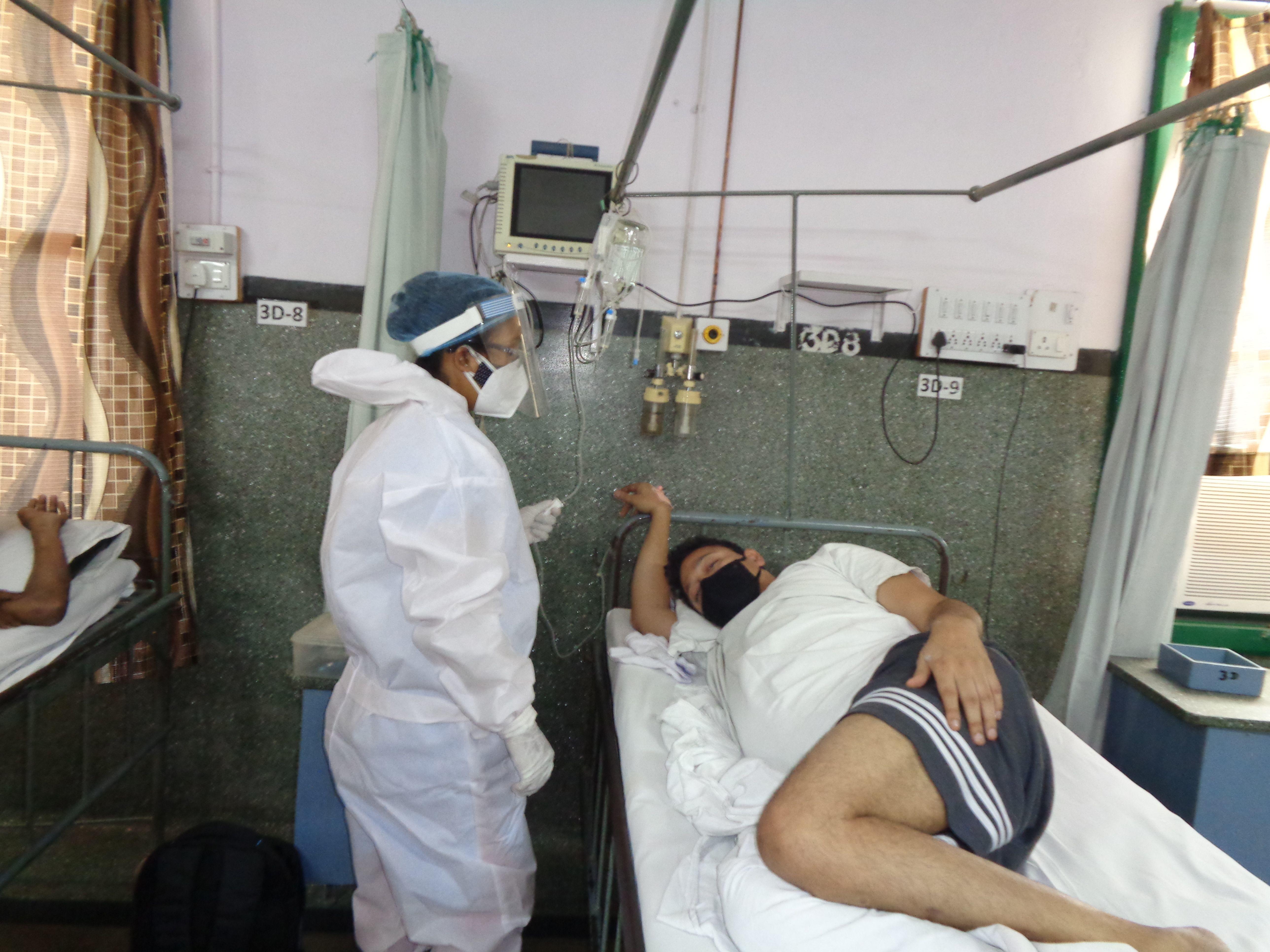 Pray for Kurji Holy Family Hospital in India