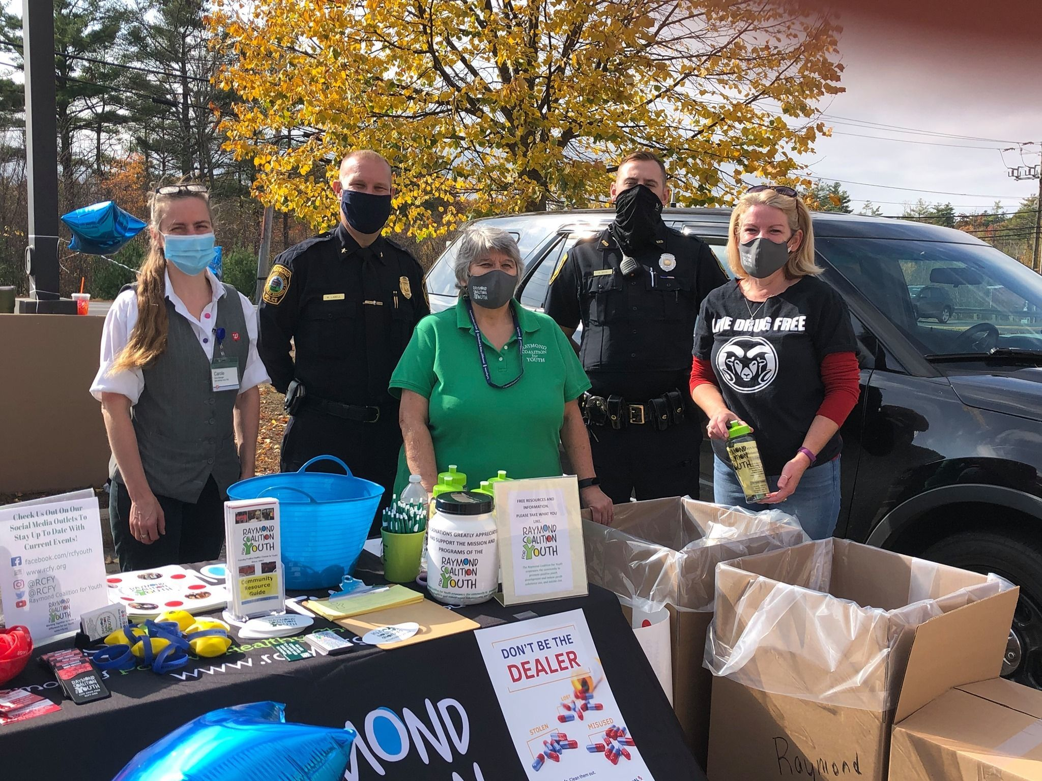 RCFY DEA Medication Take Back event disposes of 317 pounds