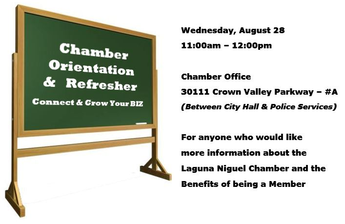 Chamber Orientation Meeting