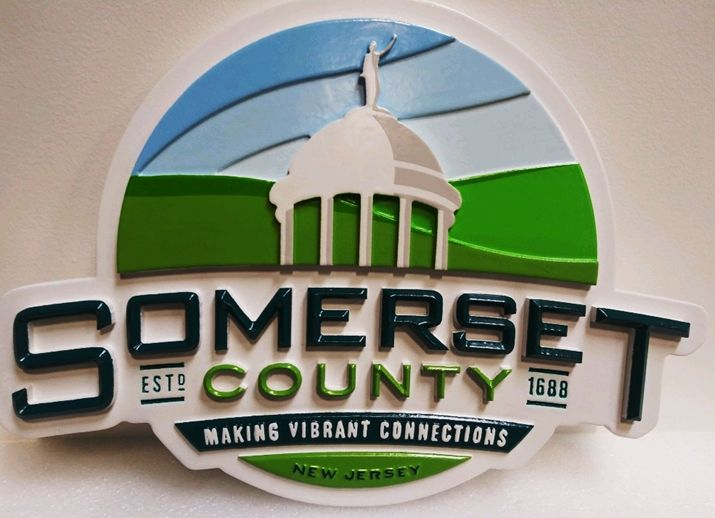 CA1099 - Seal of Somerset County, New Jersey