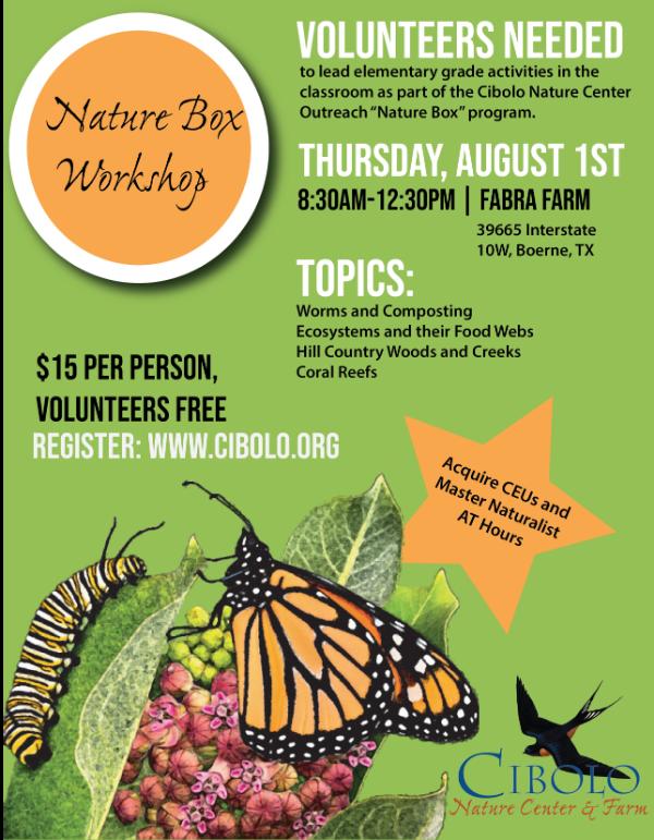 FABRA ACRES: Nature Box Educators Workshop
