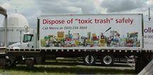 Metro Hazardous Waste Truck
