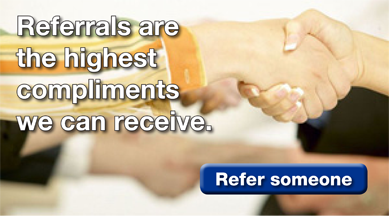 Referrals Are the Highest Compliment