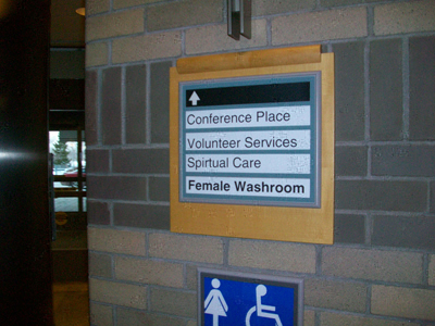 Directional & Wayfinding Signs