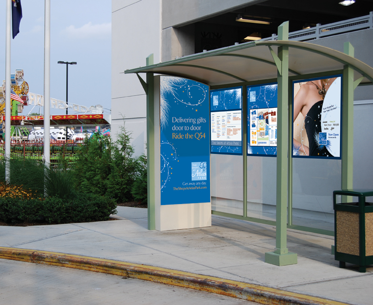 Atlas Park Bus Shelter