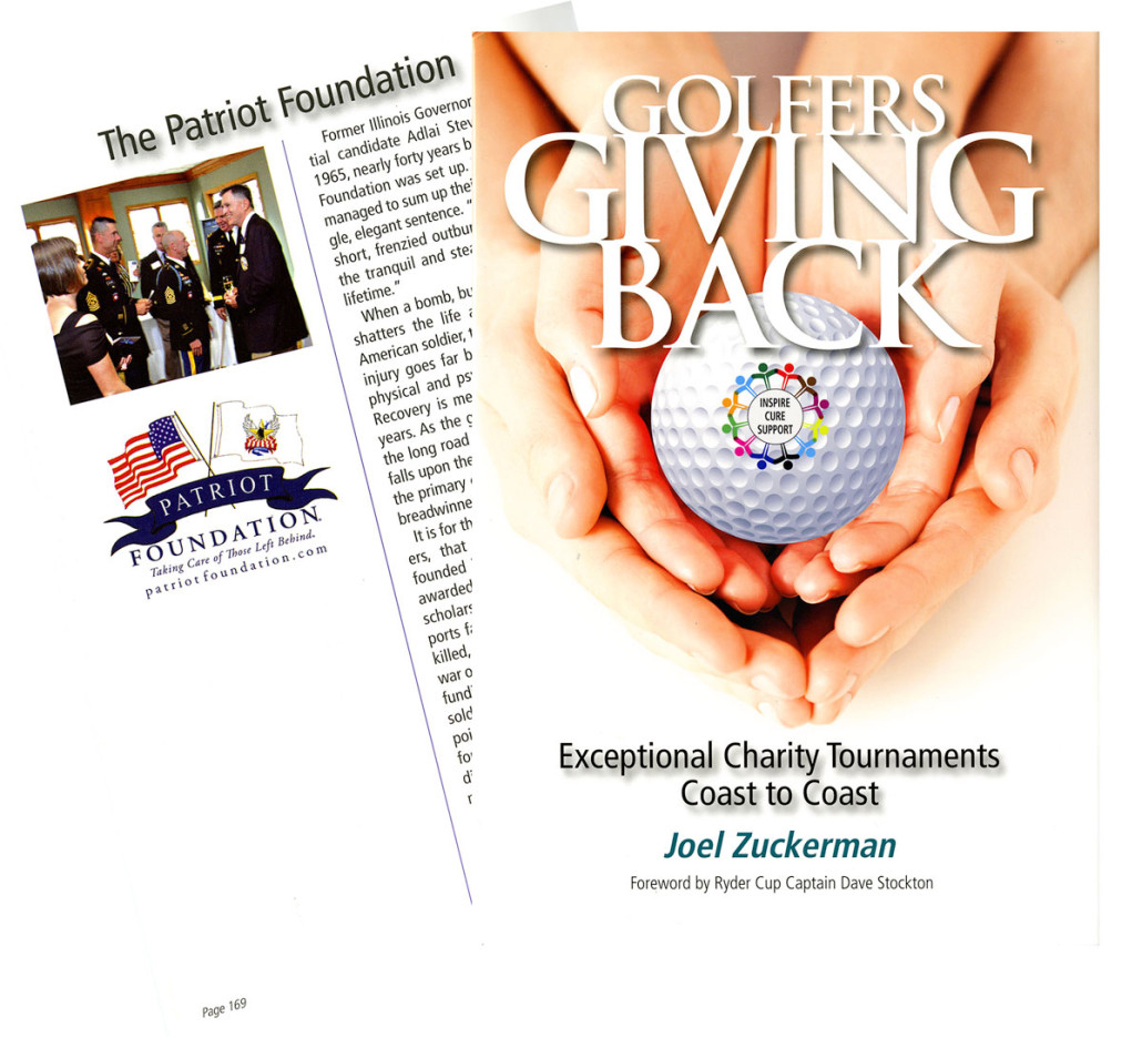 GOLFERS GIVING BACK