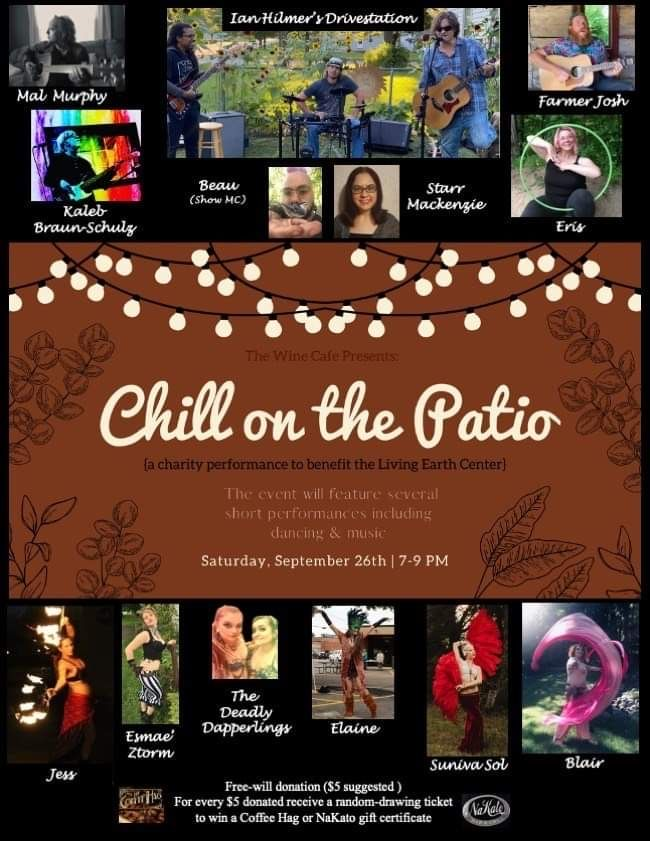 Chill on the Patio - A Benefit Performance for LEC