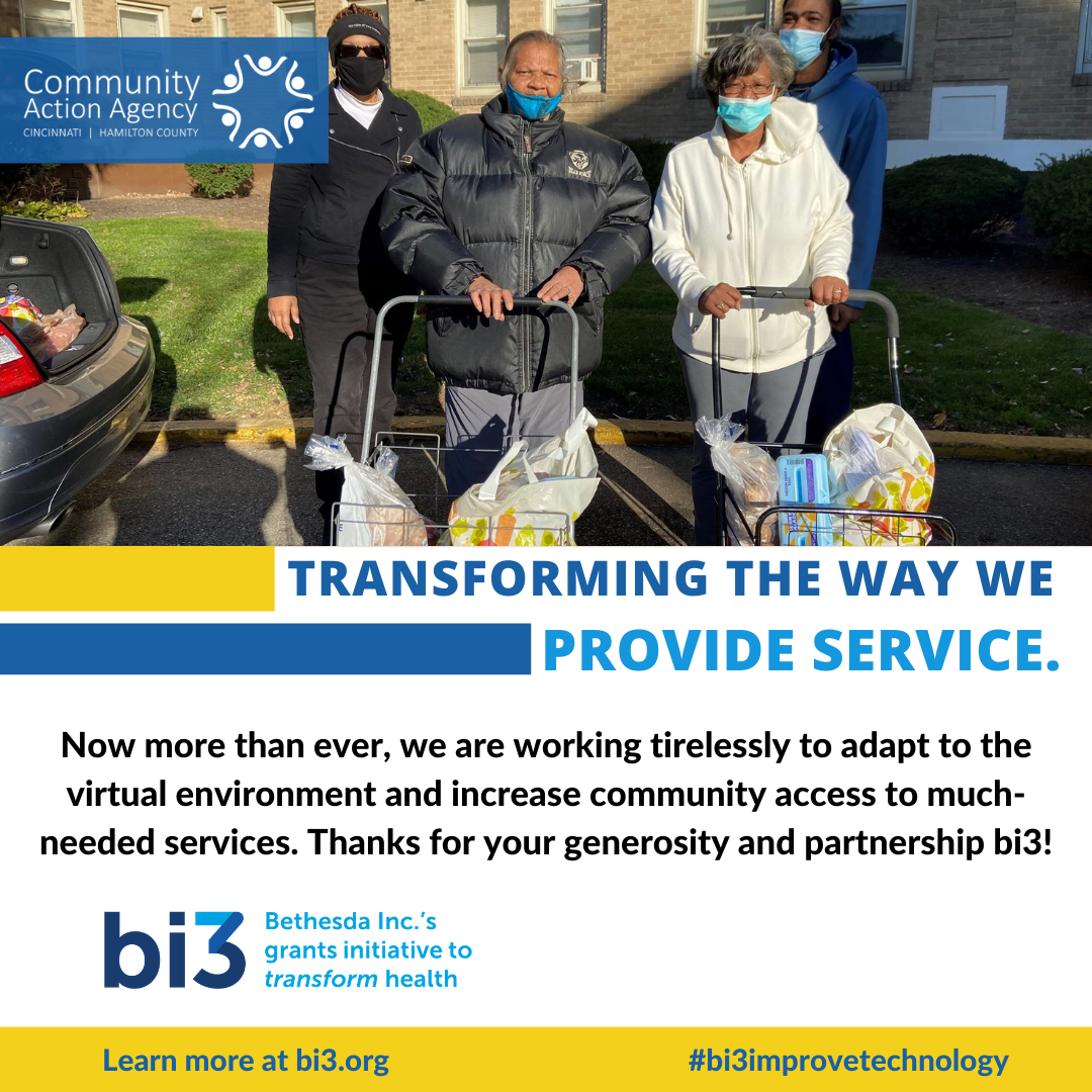 bi3 Awards $50,000 to Community Action Agency to Support Technology Capacity-Building