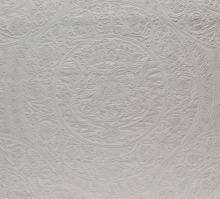 Quilt, IQSCM 2005.018.0001, Monogram Detail