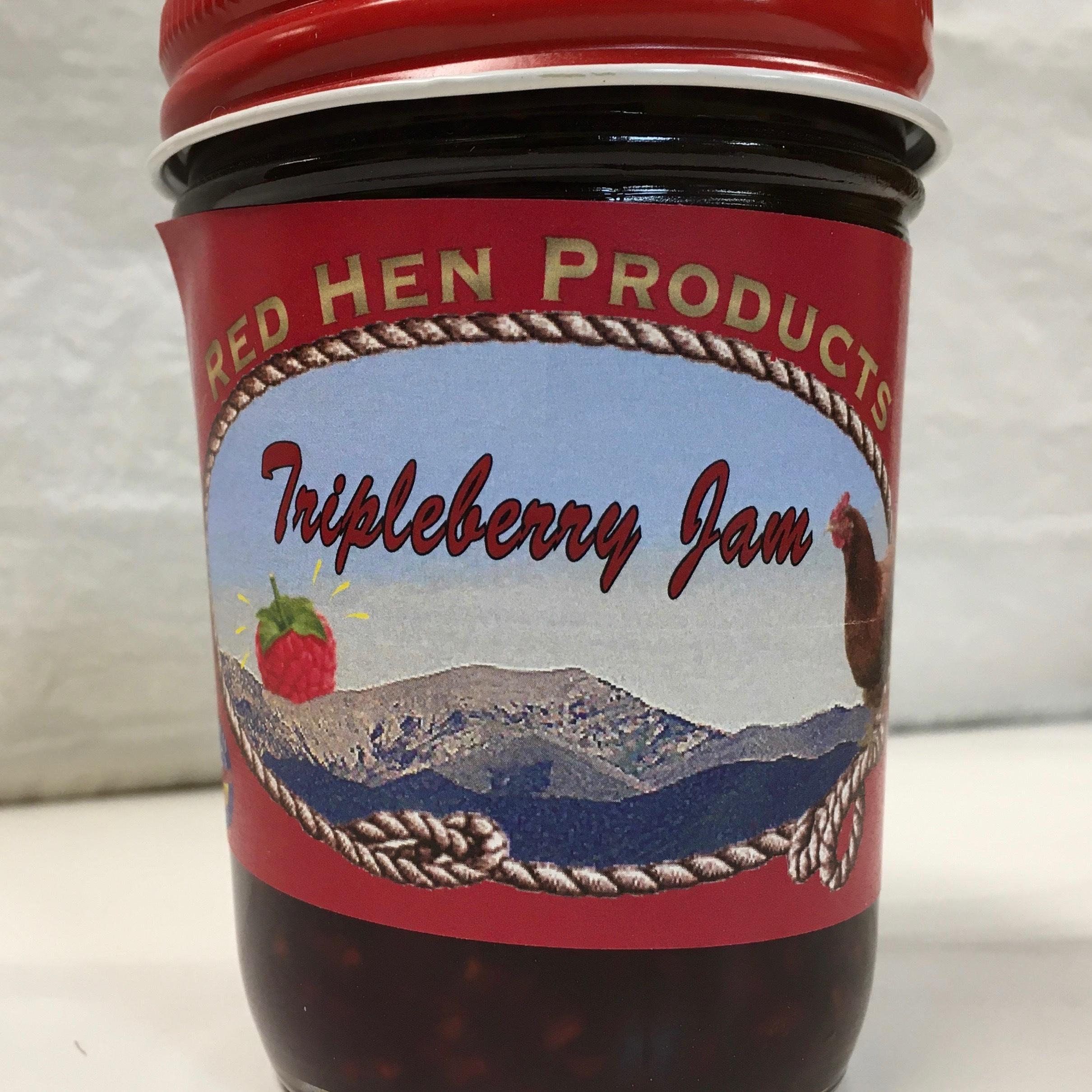 Red Hen Tripleberry Jam
