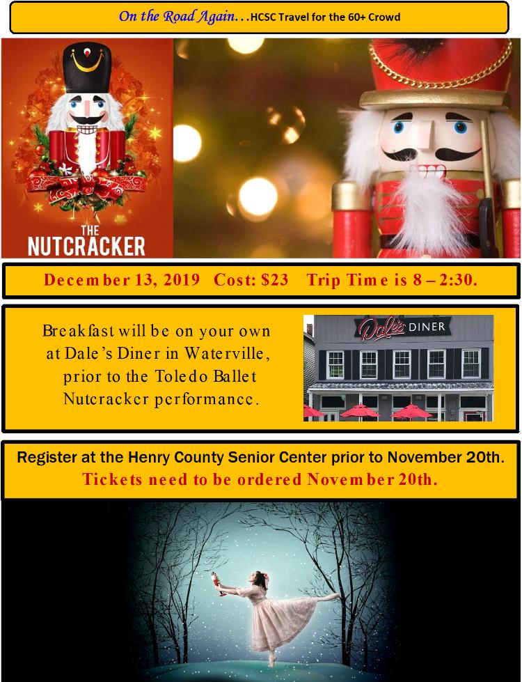 Dec. 13 Nutcracker in Toledo