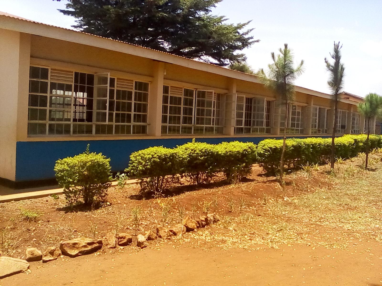Example of a classroom block