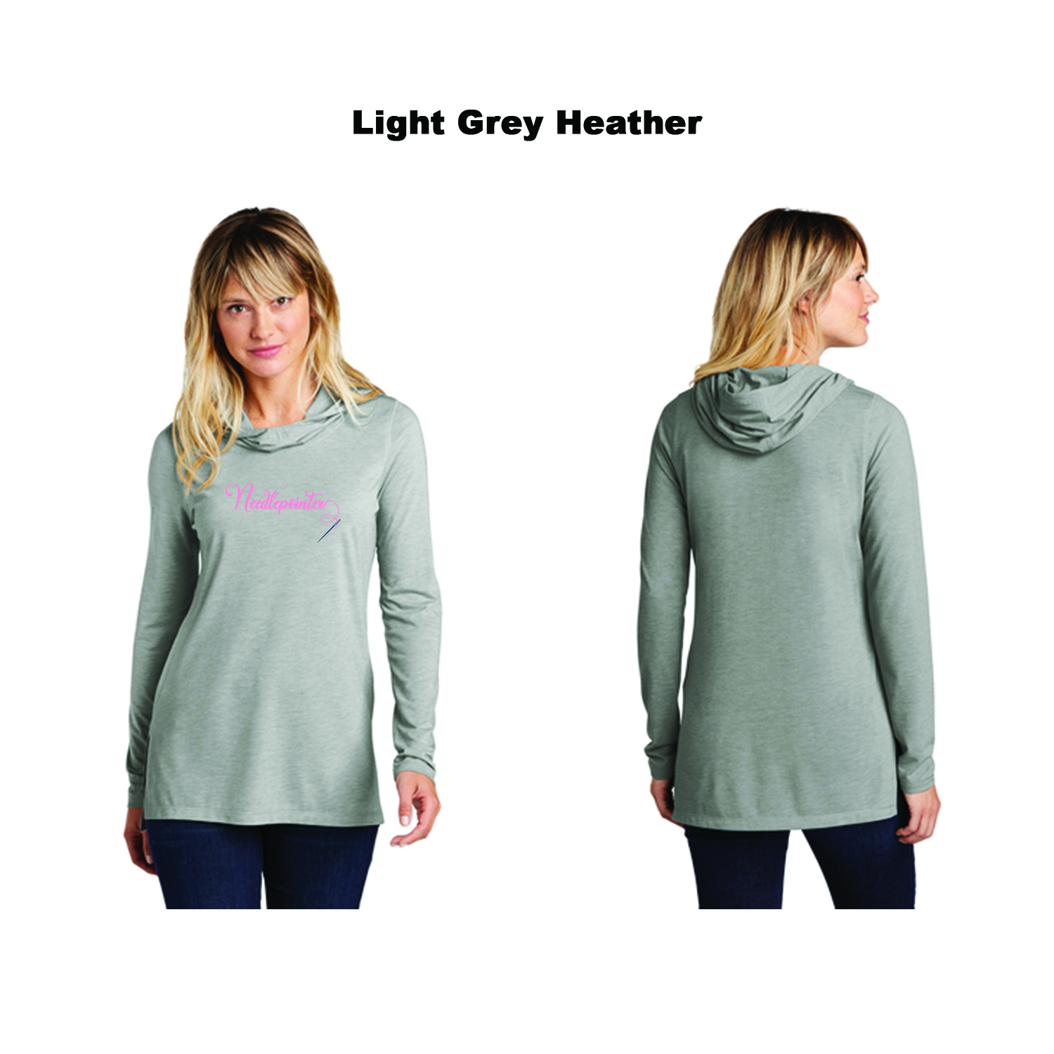 Sport-Tek ® Ladies PosiCharge ® Tri-Blend Wicking Long Sleeve Hoodie