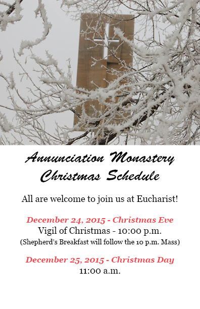 Annunciation Monastery : Events : Happenings