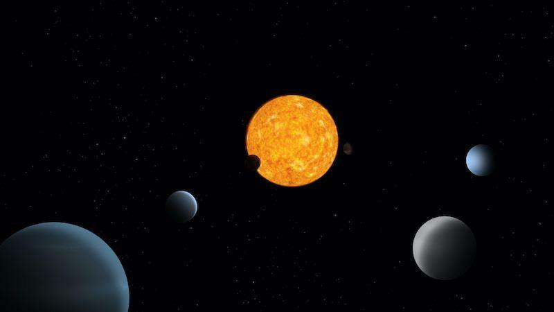 Found: A Harmonious Planetary System