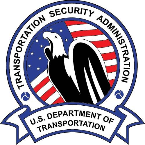 U30522 - US Transportation Security Administration (TSA) Seal Carved Wooden Wall Plaque