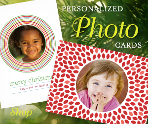 Personlized Photo Cards