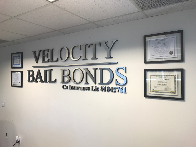 Brushed Metal Lobby Logo Signs for Santa Ana Businesses