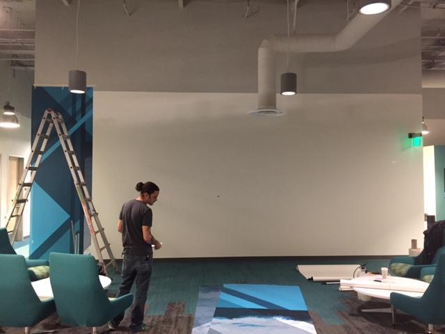 Wall Mural - Starting Photo