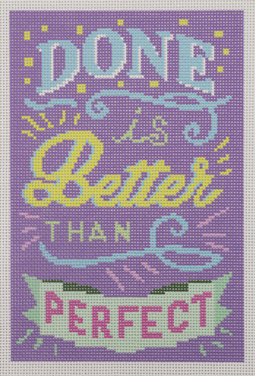 Done is Better than Perfect - Purple
