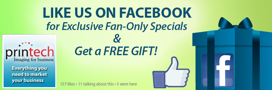 Like us on Facebook for Fan-Only Specials