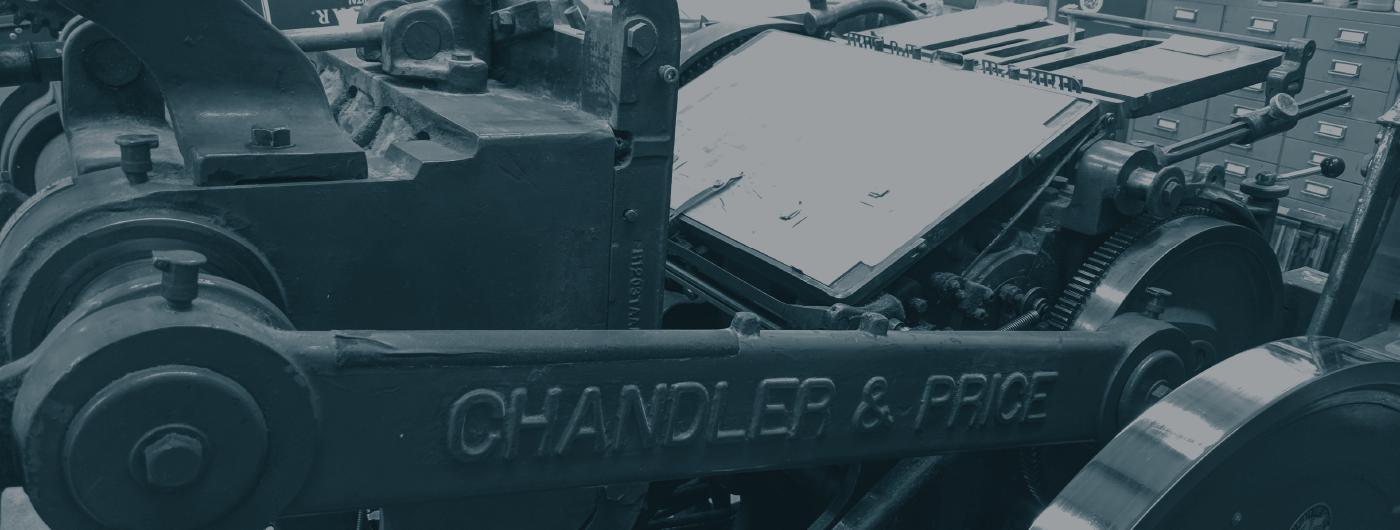 Letterpress Foil, Emboss & Diecutting.