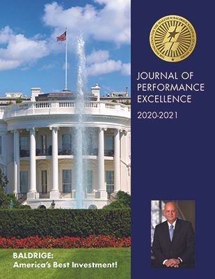Cover of 2020-2021 Journal of Performance Excellence
