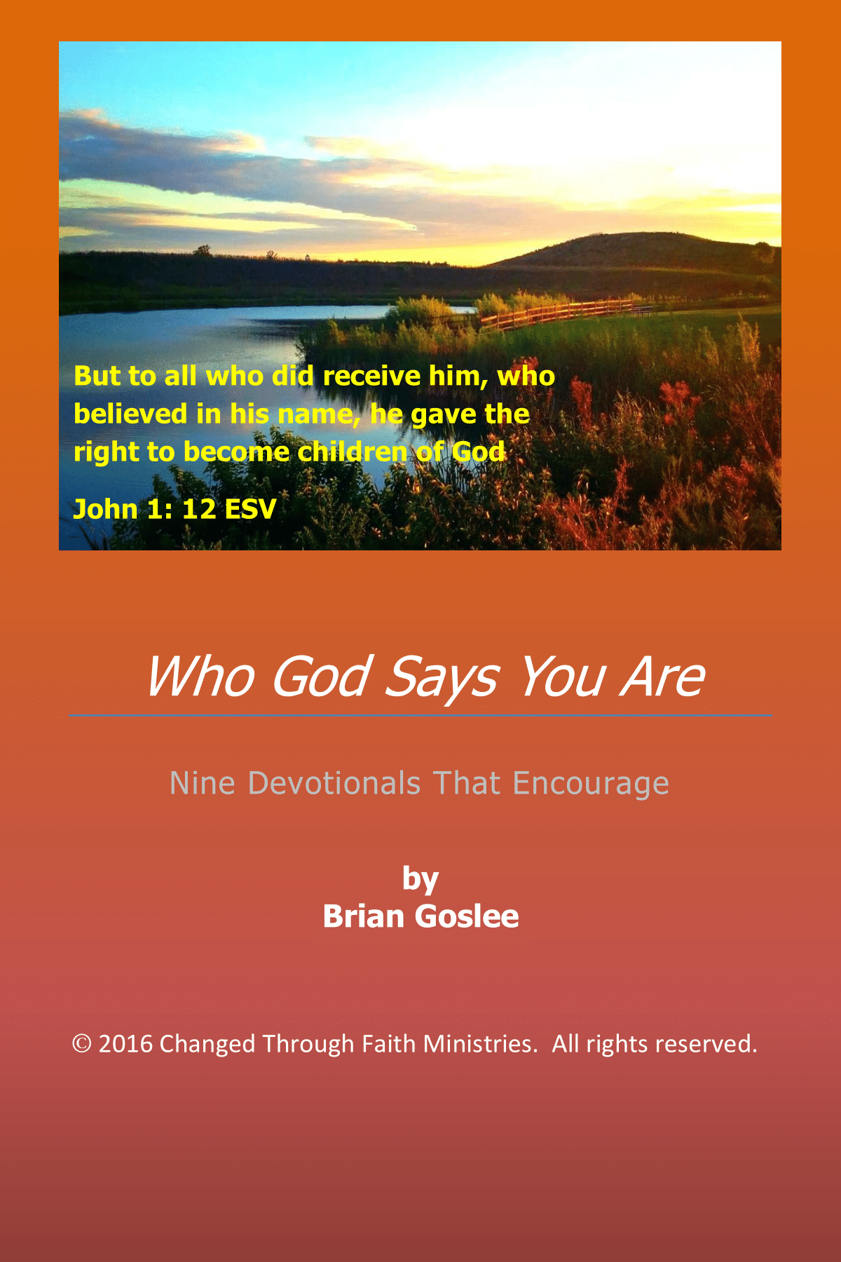 Who God Says You Are