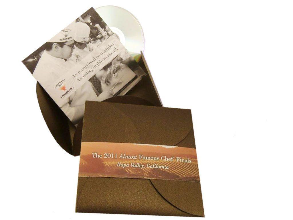 Custom CD Packaging With Belly Band