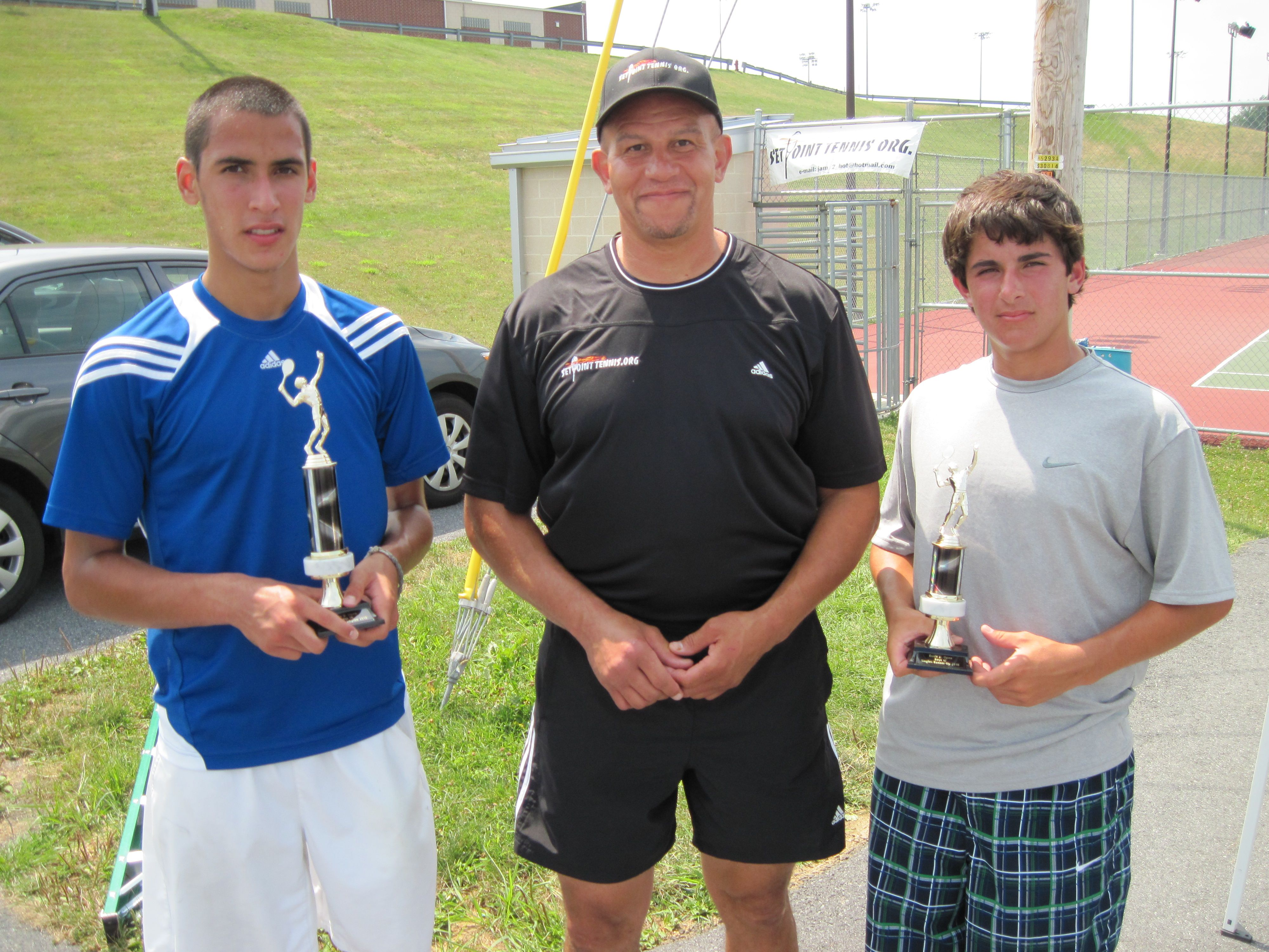 Boys 14 Division Set Point Tennis Open