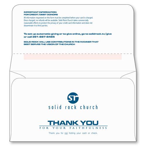 6 3/4 Remittance Envelope