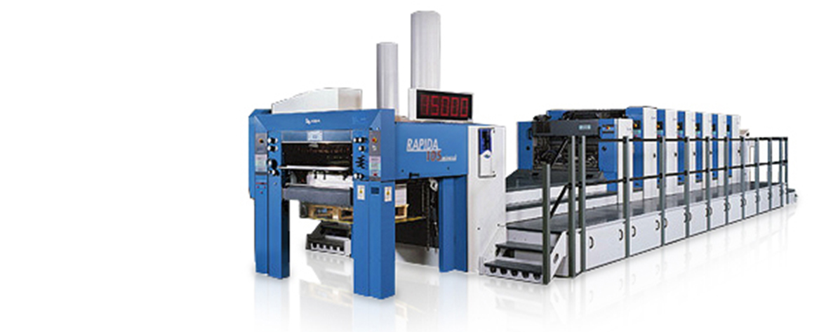 KBA Rapida 105 - 5 Color with Coater (26 x 40 Sheet)