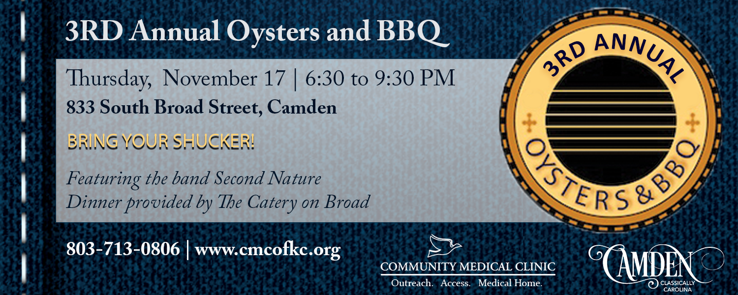 3rd Annual Oyster and BBQ Bash