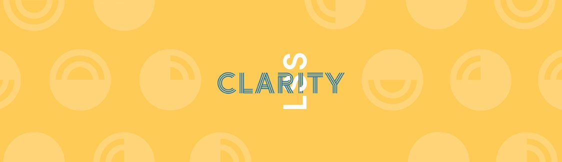 Graphic: LSS Interlocking with the word Clarity.
