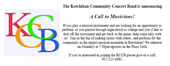 Call for Musicans - Ketchikan Community Concert Band!!!!