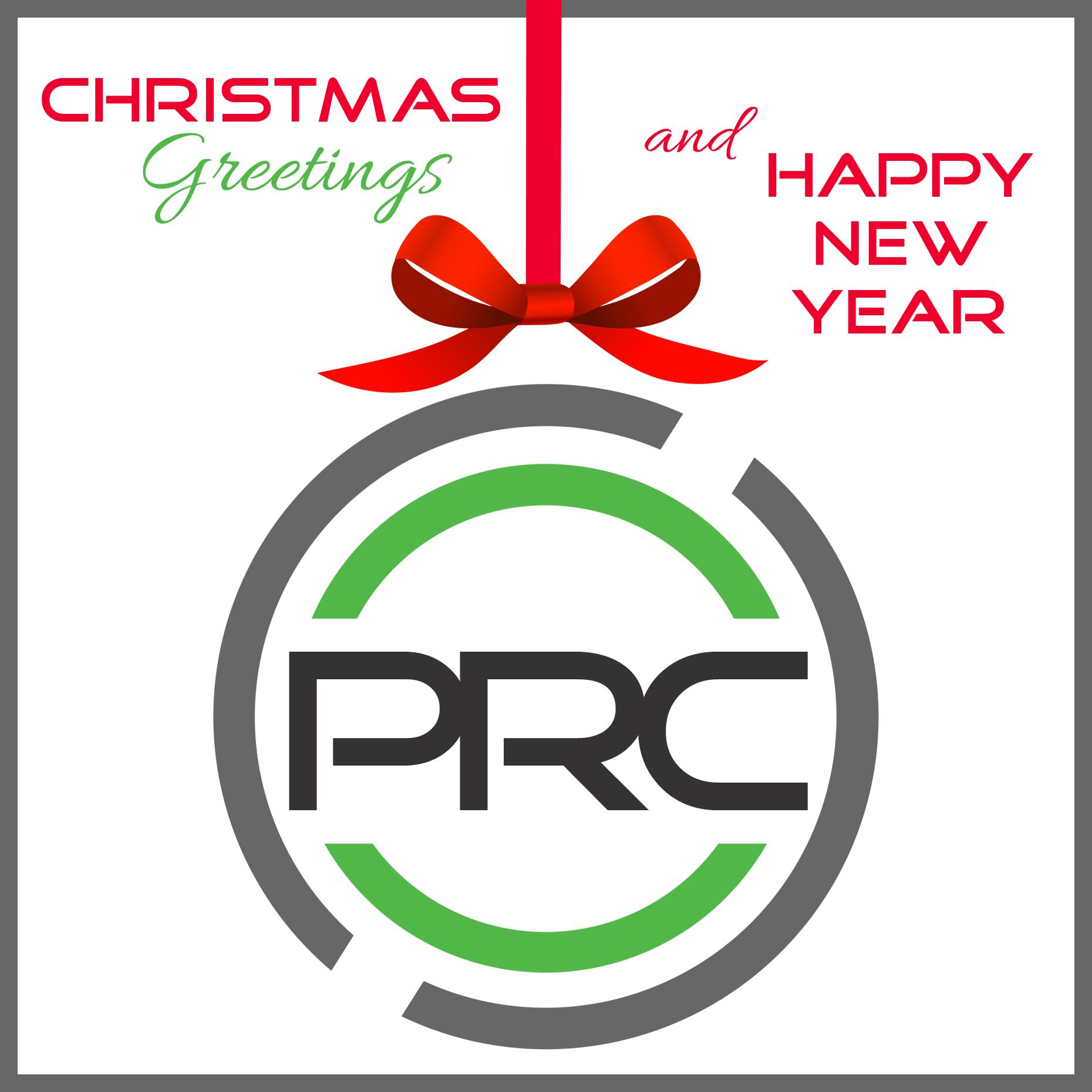 Christmas Greetings & Happy New Year!