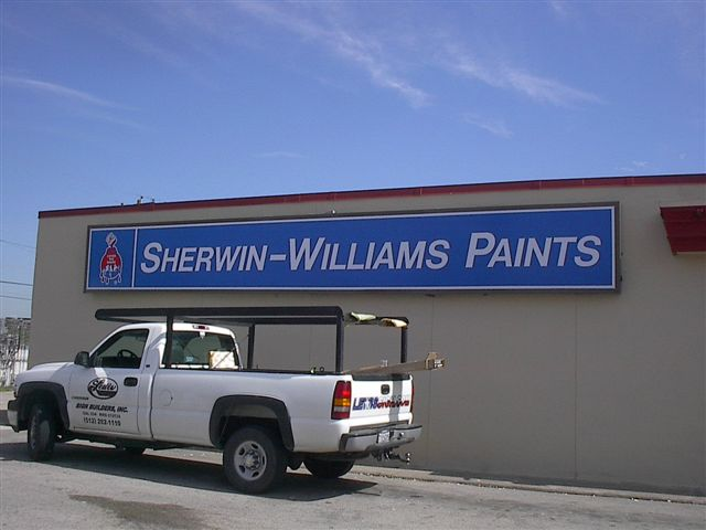 Sherwin Williams - Install