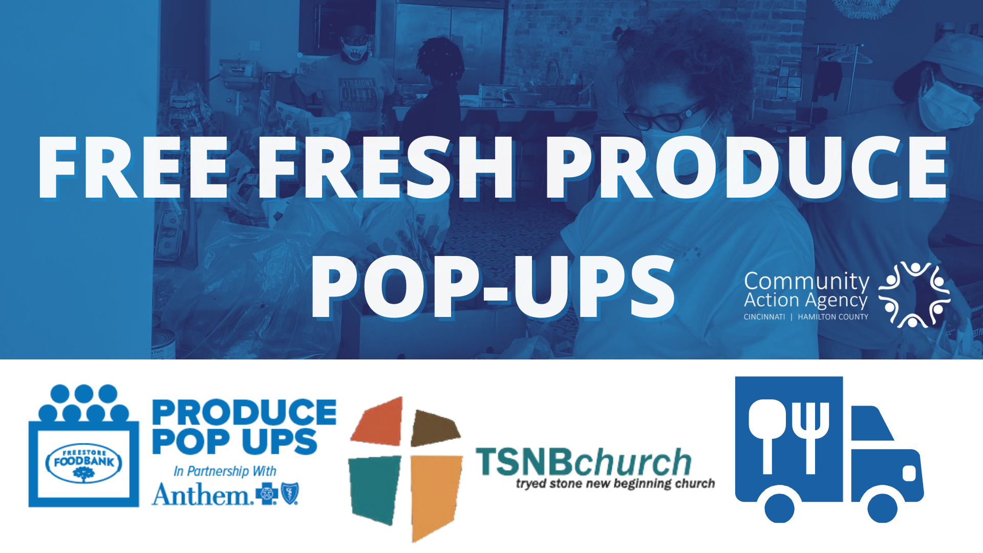 Produce Pop Ups x CAA Mobile Food Pantry @ Tryed Stone New Beginning Church
