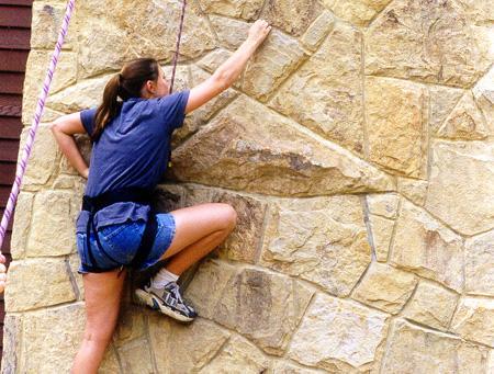 Climbing Chimney I
