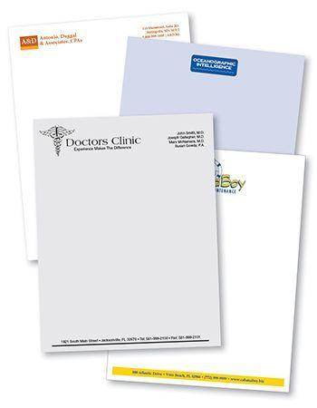 Letterhead printing from Rx Minuteman Press