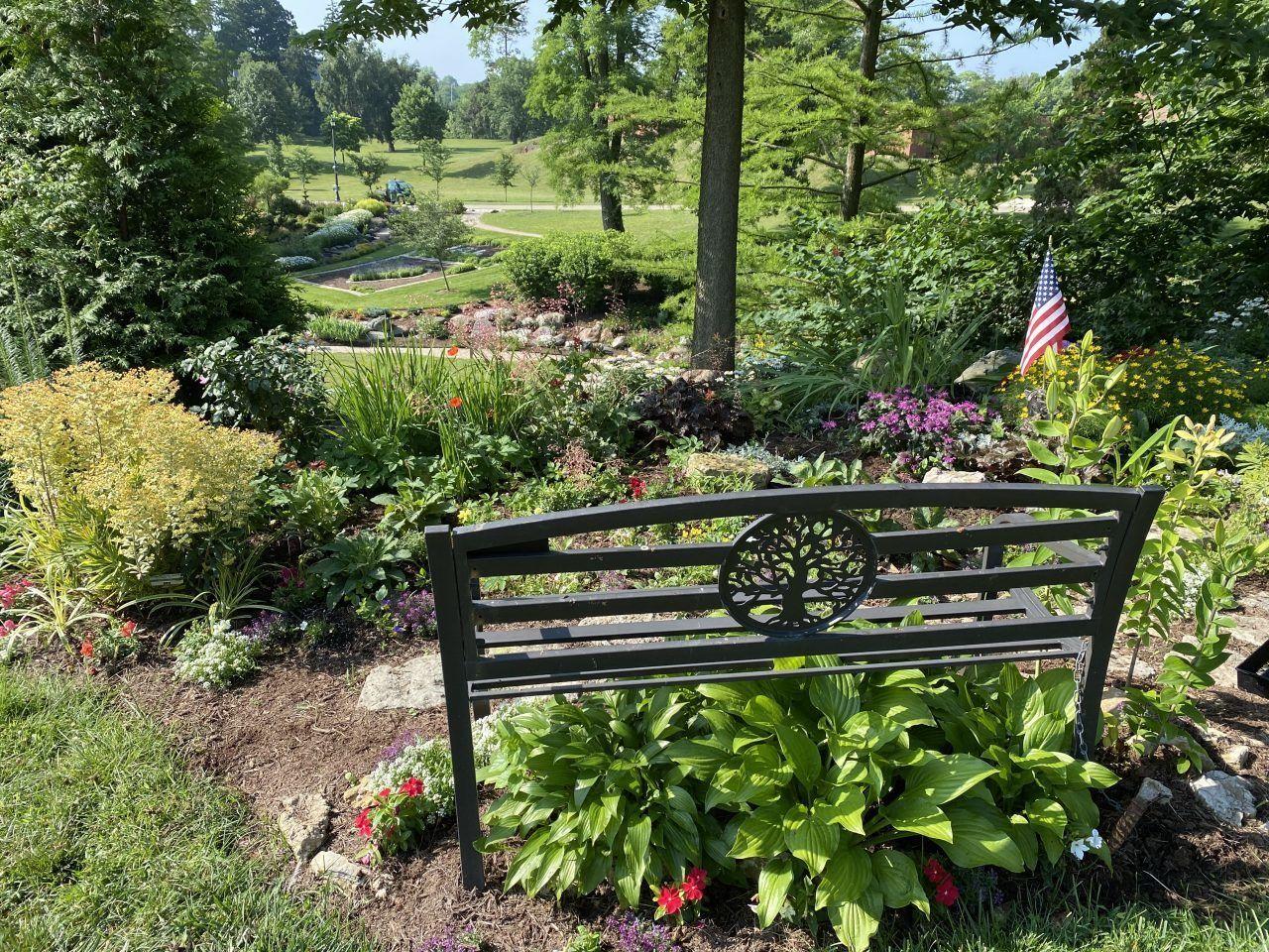 16. WWII Memorial Overlook Gar