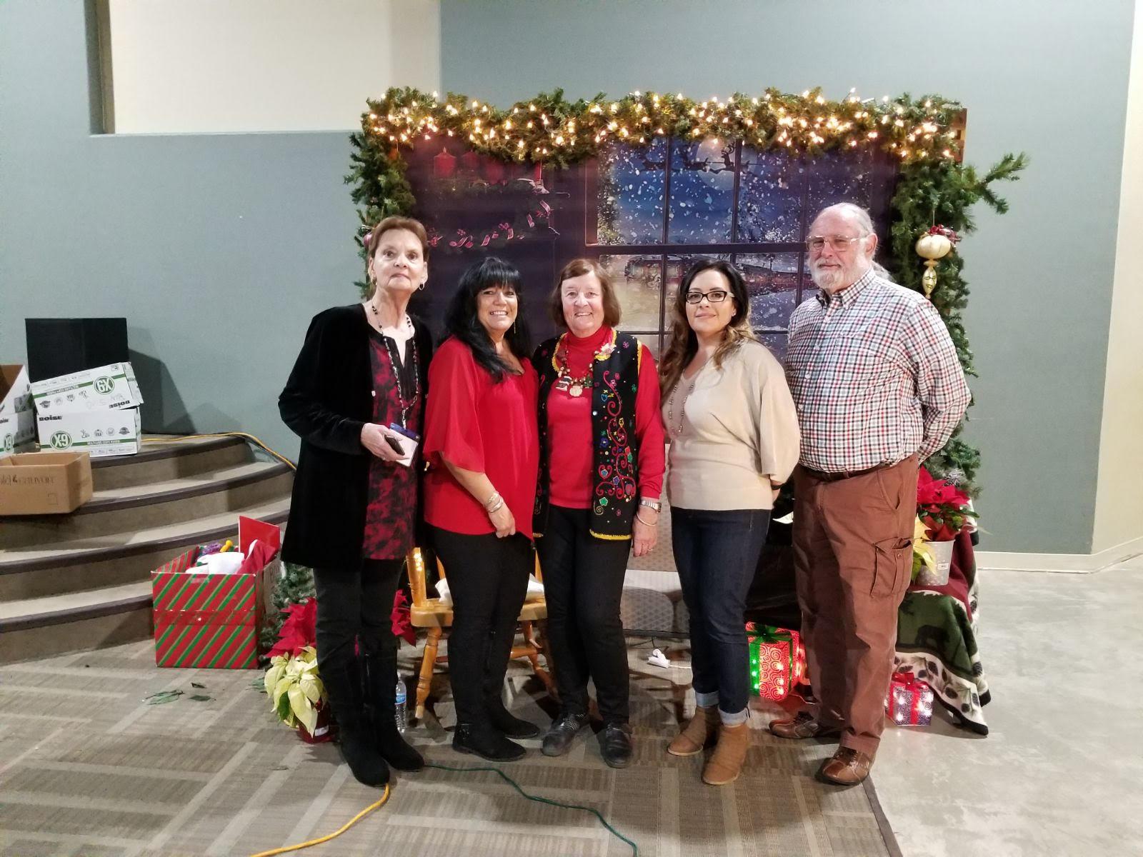 CASA Christmas Party Valencia County