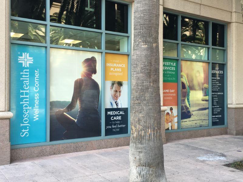 Retailer Window Graphics Anaheim CA