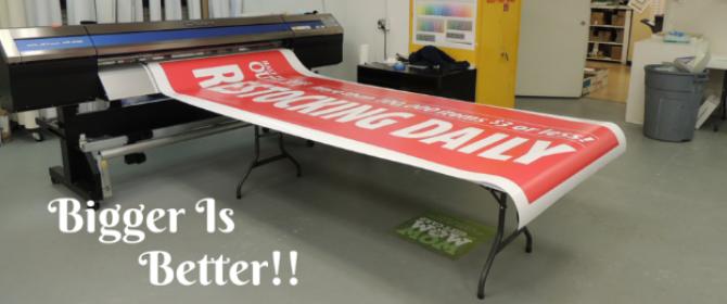 Banner Printing, Custom Banners, Vinyl Banners