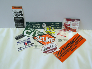 Custom Labels, Decals & Bumper Stickers
