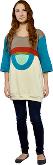 Dress T-Shirt 3/4 Sleeve Fungi Kangaroo