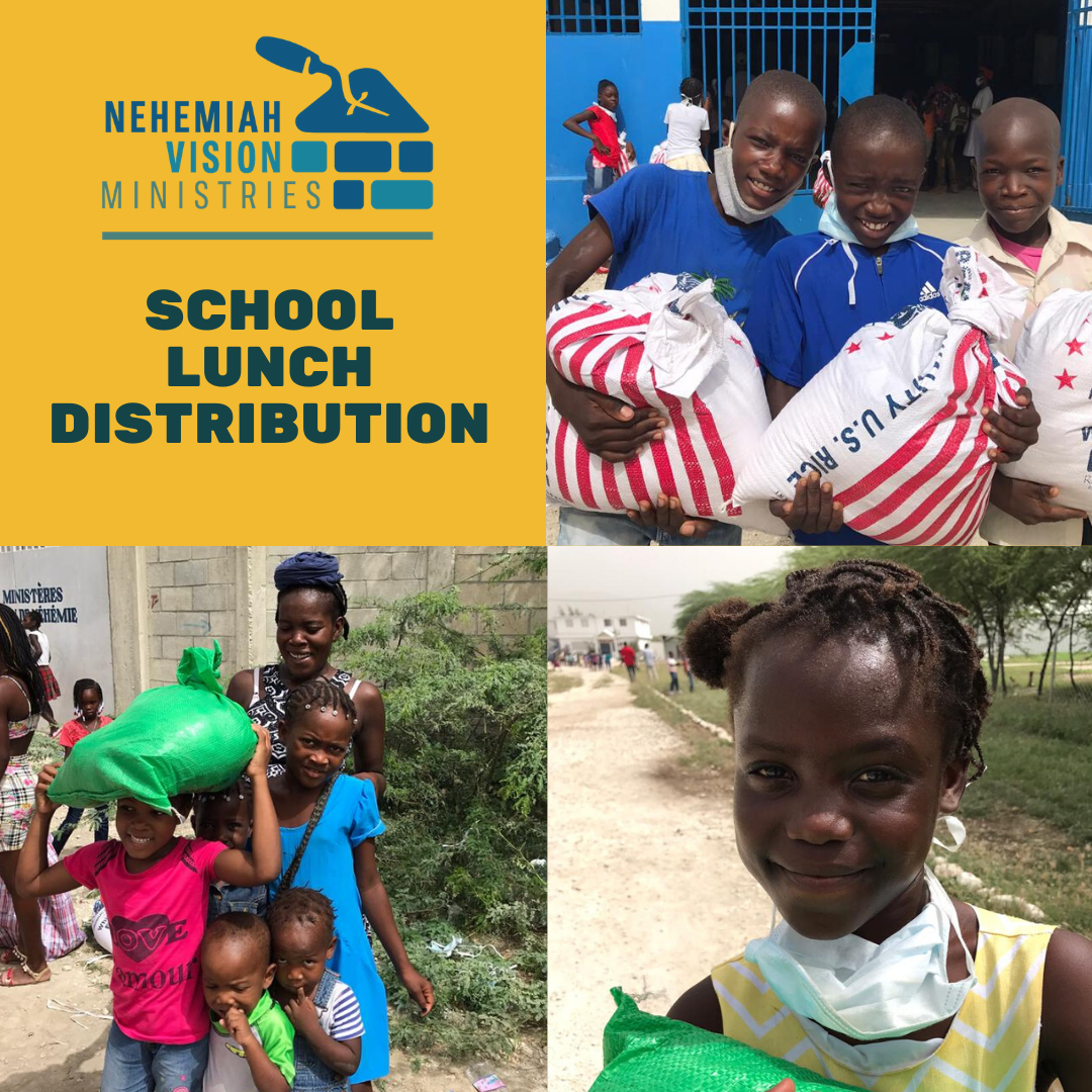 YOU did it again! School Lunch Distribution Round 2