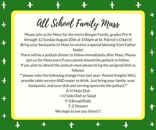 All School Family Mass