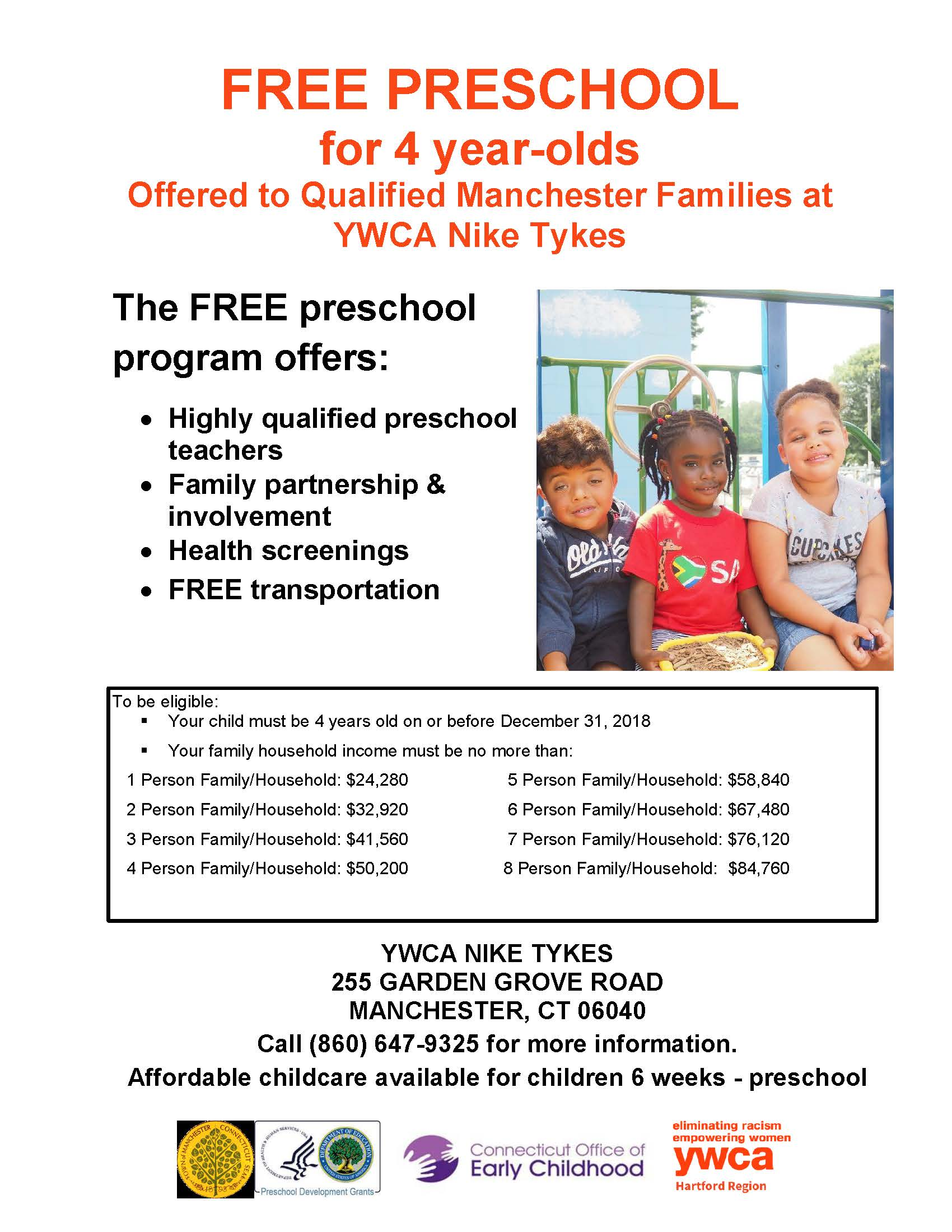 Preschool age: from 3 to 7 years: a selection of sites