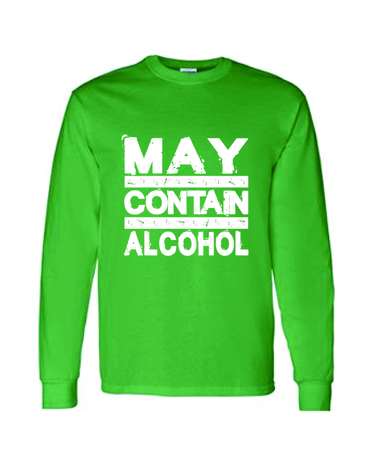 St. Patty's Day Long Sleeve Tee - May Contain Alcohol